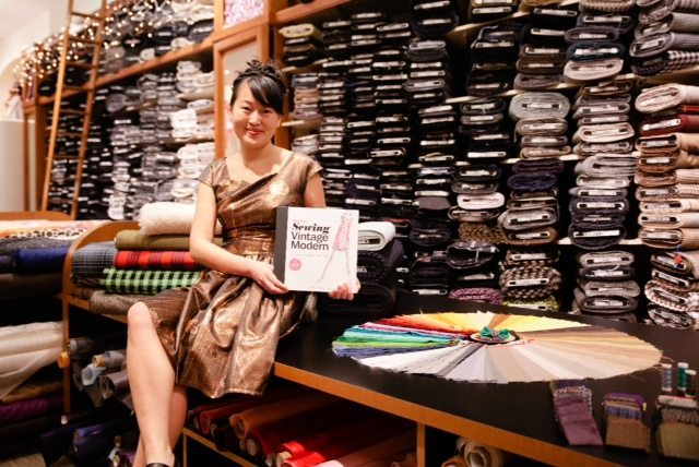 Q&A with Jamie Lau, author of BurdaStyle Sewing Vintage Modern