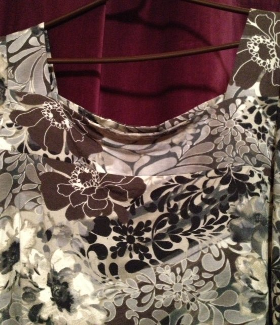 Knit top - no interfacing