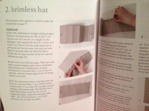 hat instructions in Deisgn & Make Fashion Hats