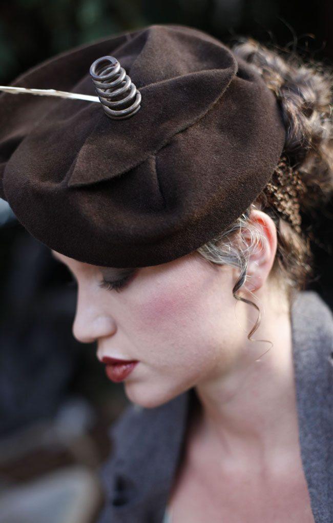 O'Lover Hat by Elwyn Crawford (photo by Lauren Warner MUA)