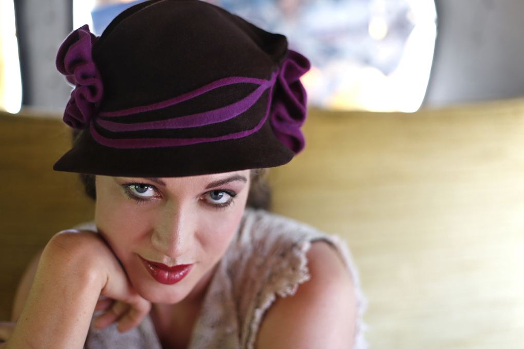 O'Lover Hats, design by Elwyn Crawford (photo: Becca Henry Photography)