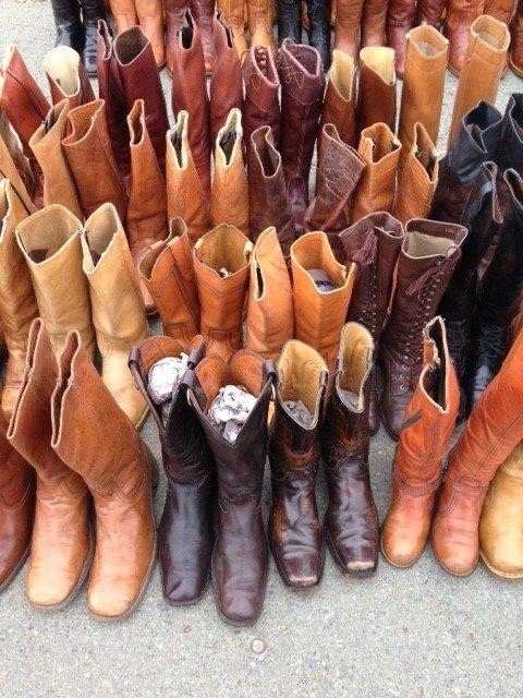 Cowboy boots!