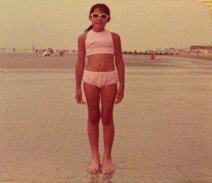 Swimsuit-sunglasses