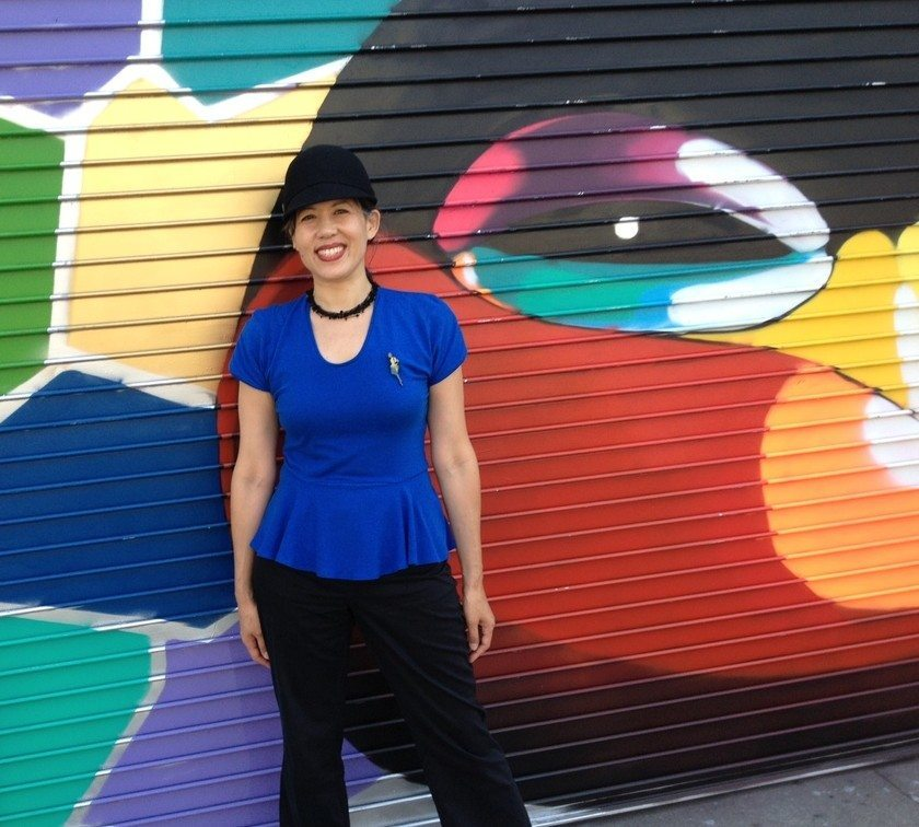 Blue Hummingbird-mural1