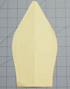 Beret pattern piece - too narrow