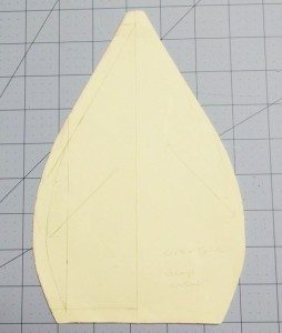 First draft - 6-section cap pattern