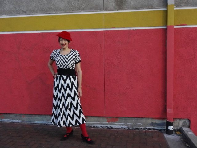 Red Velvet Knit Dress - Cake Patterns - csews.com