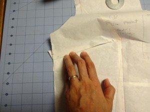 Small bust adjustment - Emery Dress