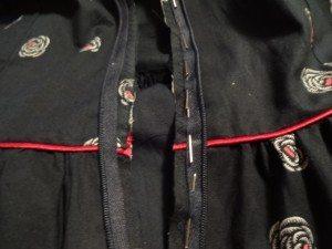 Marking zipper - Emery Dress - csews.com
