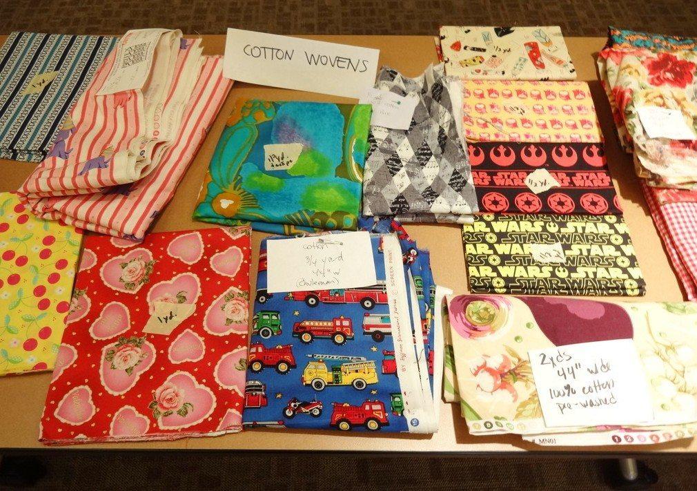 Organizing a Fabric Swap