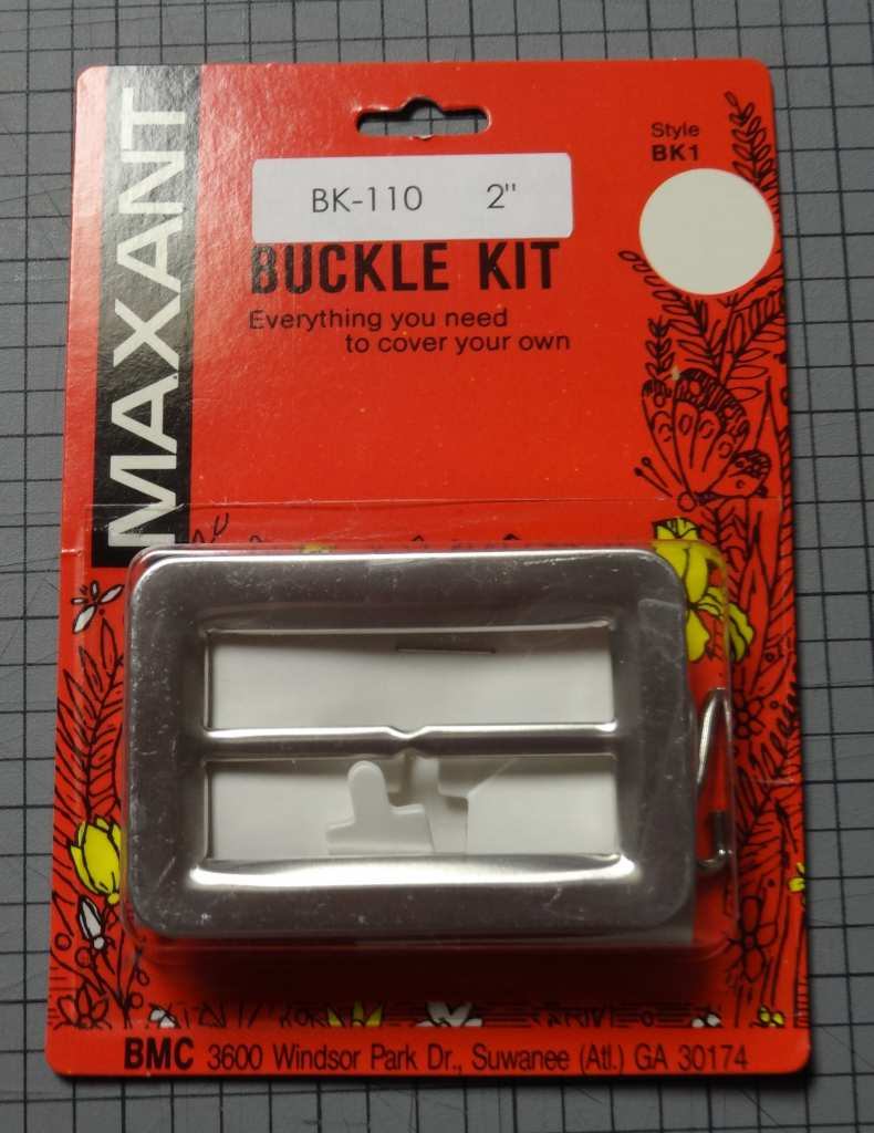 Maxant fabric-covered buckle kit - csews.com