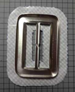 Sticking fabric to belt buckle - csews.com