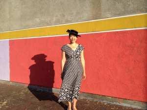 Anna Dress - By Hand London - v-neck - csews.com