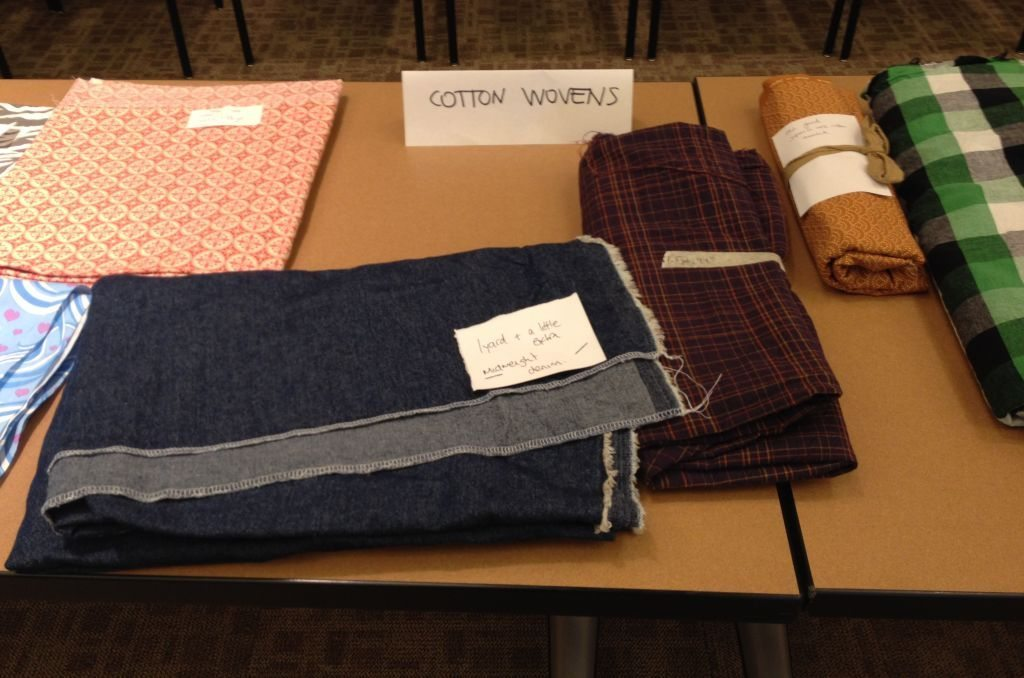 Fabric swap - cotton wovens - Bay Area Sewists