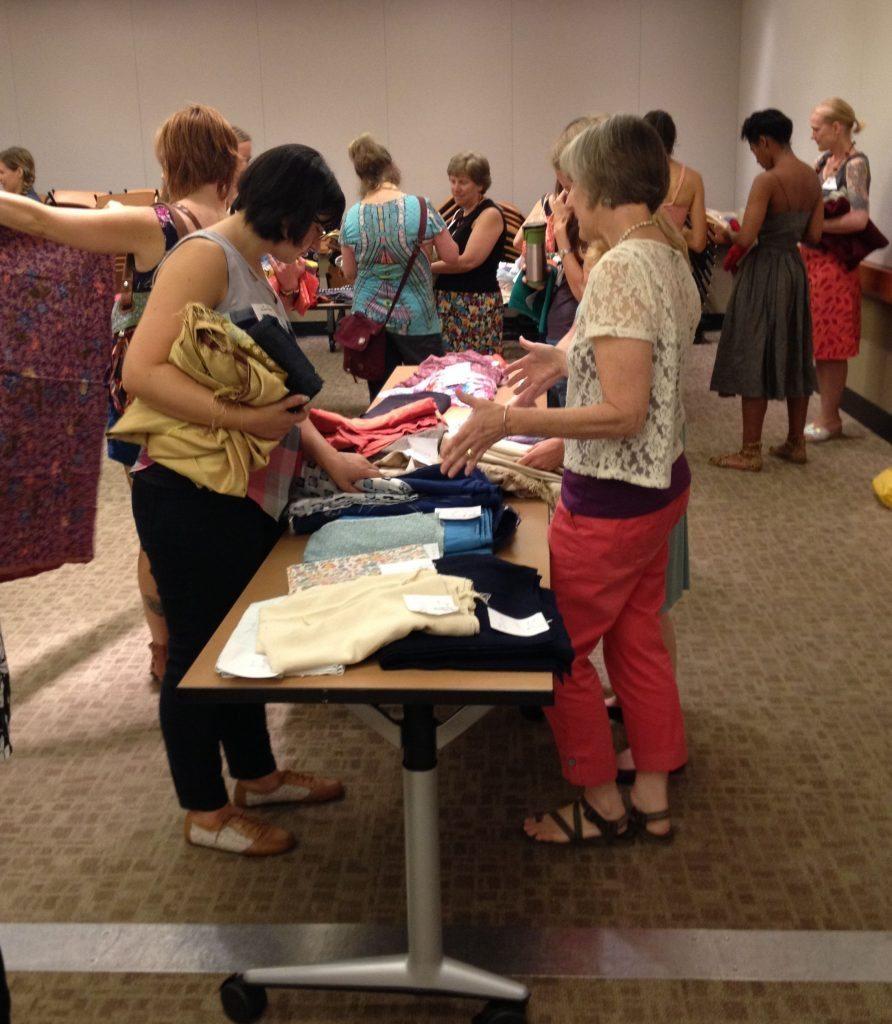 Bay Area Sewists - fabric swap - 26 July 2014