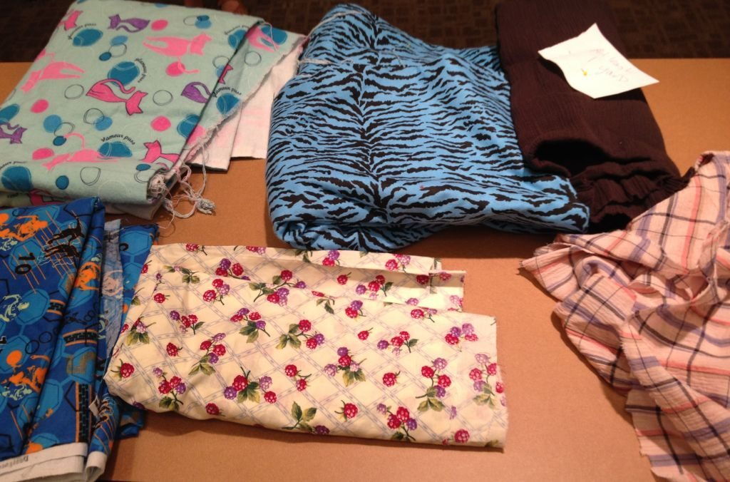 Bay Area Sewists - fabric swap - cotton wovens