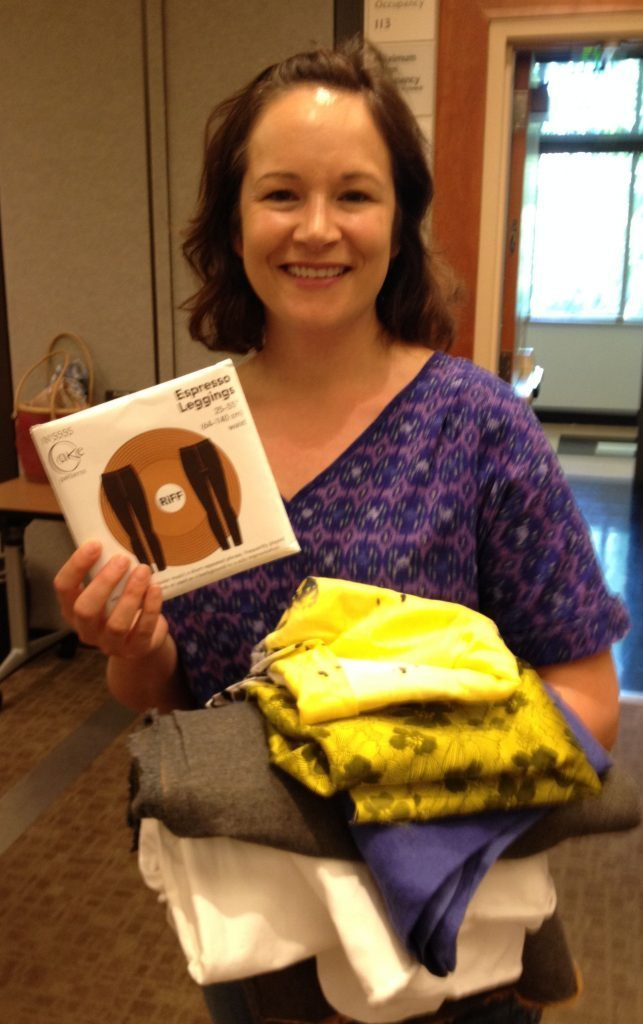 Cake Patterns - Espresso Legging pattern giveaway winner - Bay Area Sewists