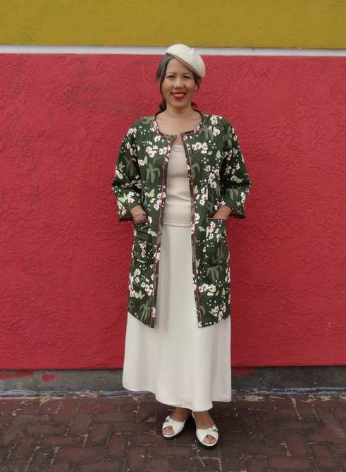 Trench - Christine Haynes Pattern - Chic & Simple Sewing - csews.com