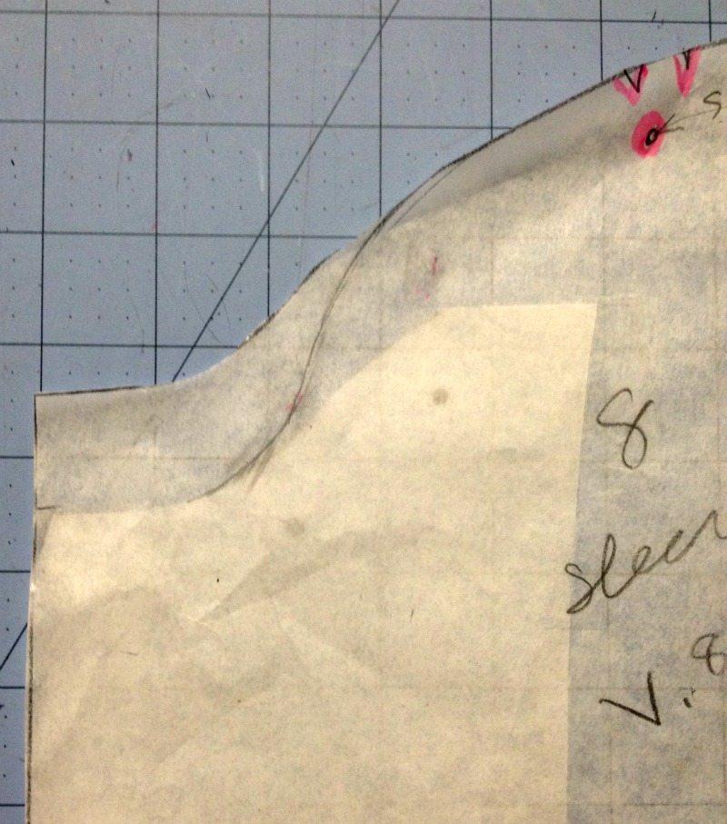 Sleeve - vintage vogue 8343 - csews.com
