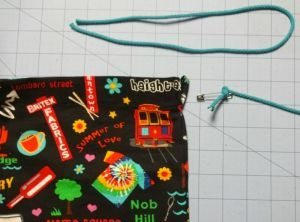 Tutorial: How to make a drawstring bag - C Sews
