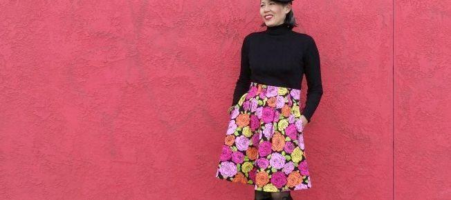 Finished: My First Chardon Skirt