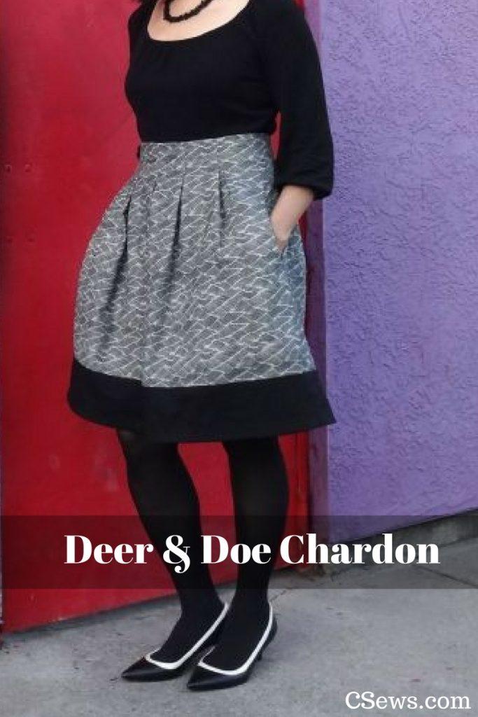 Deer and Doe sewing pattern - Chardon skirt - CSews.com