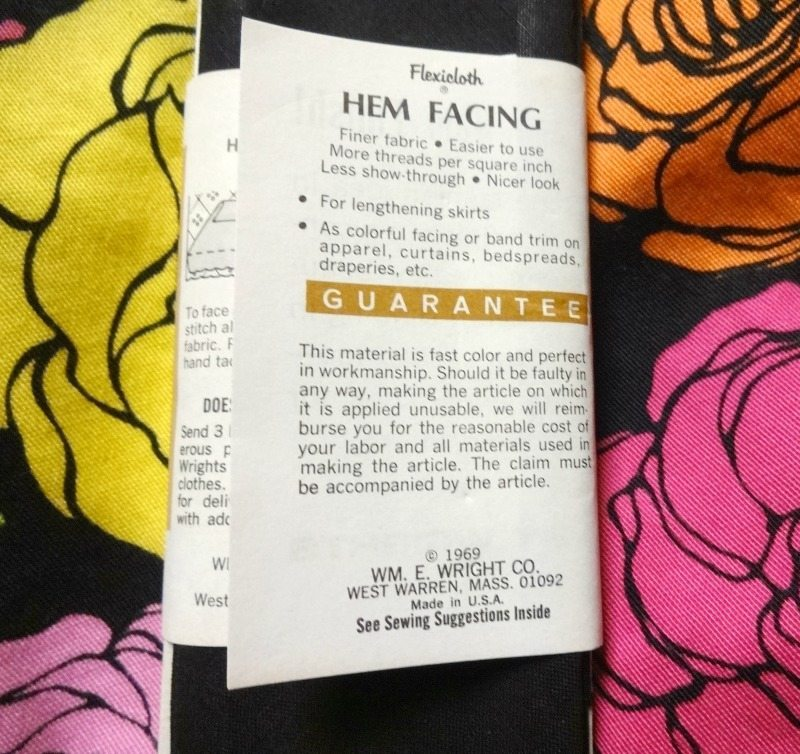 Vintage facing label - csews.com