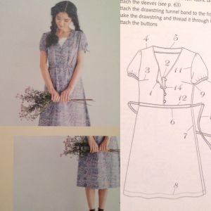 V-neck dress - Stylish Dress Book - csews.com