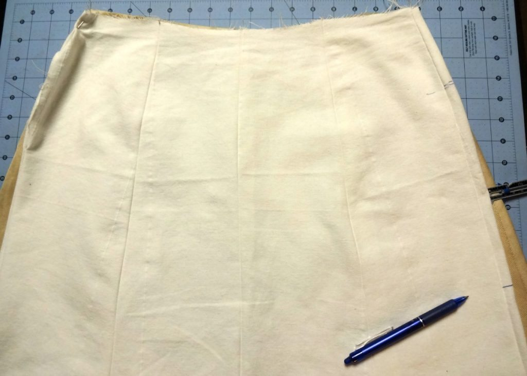 Skirt ease at hips - csews.com