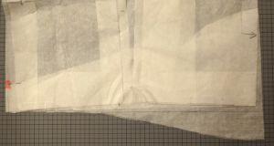 Newcastle Cardi - Back pattern adjustment - csews.com