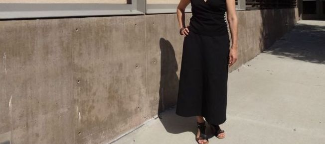 Basic Black - skirt front - csews.com