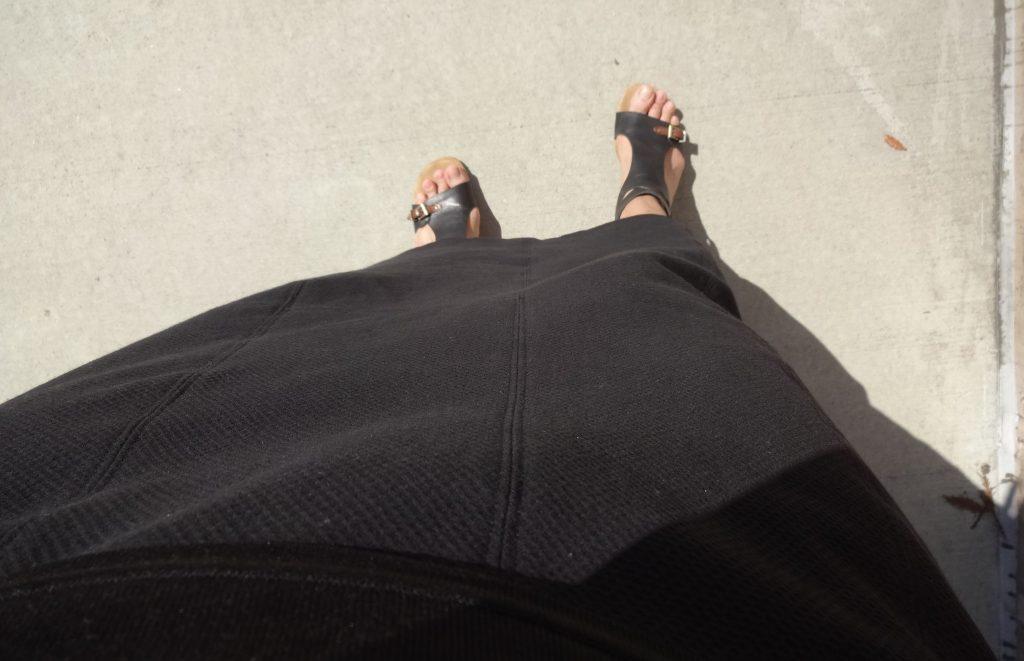 Skirt from Basic Black by Sato Watanabe - Japan Sew Along - csews.com