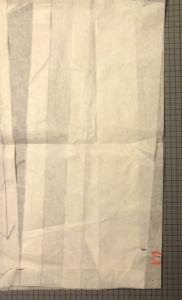 Newcastle Cardigan - Front side pattern adjustment - csews.com