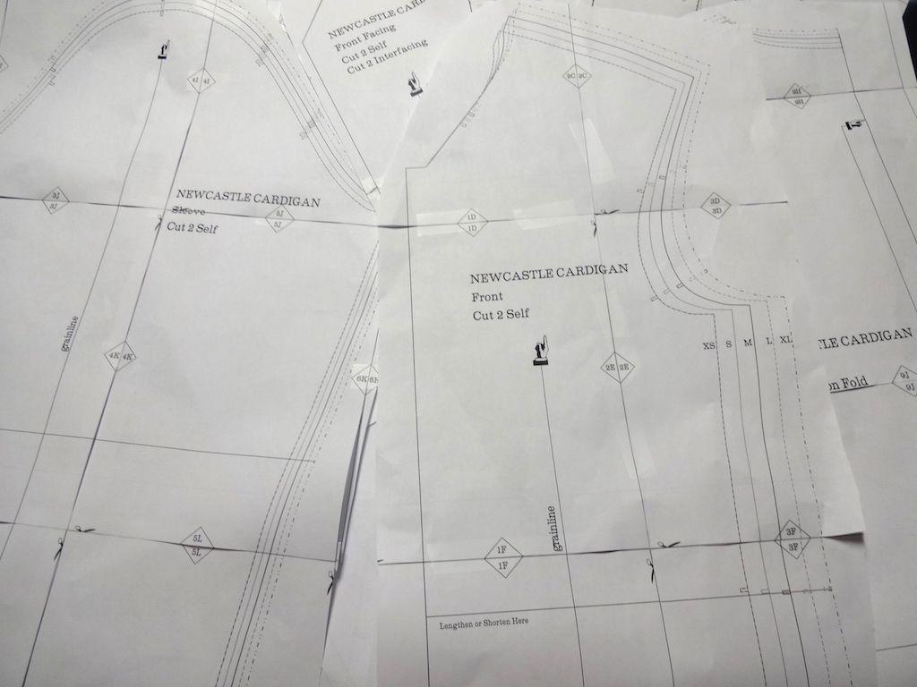 Newcastle Cardigan PDF - csews.com