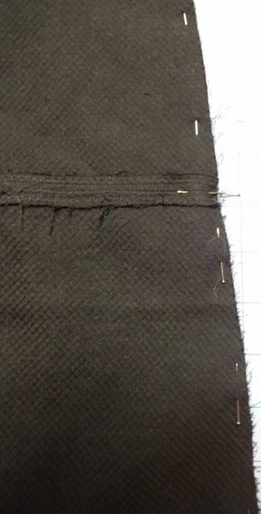 Pinning skirt panel seams - csews.com