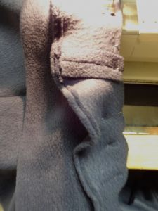 Sewing Newcastle Cardigan - collar-facing - csews.com