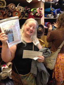 Melissa - Bay Area Sewists - Beatrice Pocket Dress - csews.com