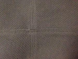 Top stitching detail - csews.com