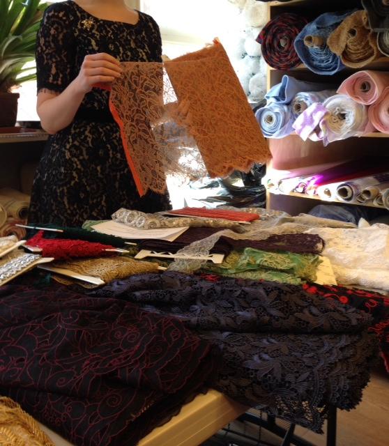 Chantilly lace - Britex Fabrics - csews.com