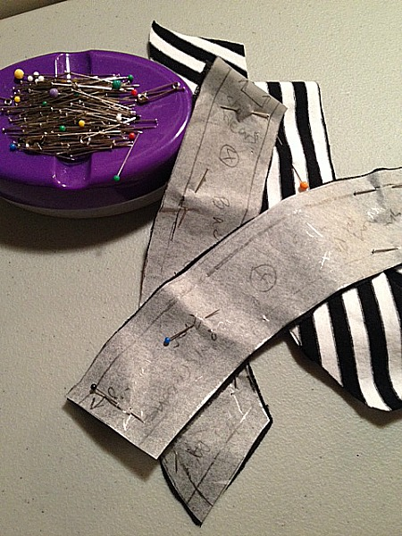 Pattern pieces cut - She Wears the Pants - csews.com