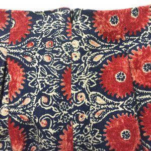Deer and Doe - linen Chardon - invisible zipper - csews.com