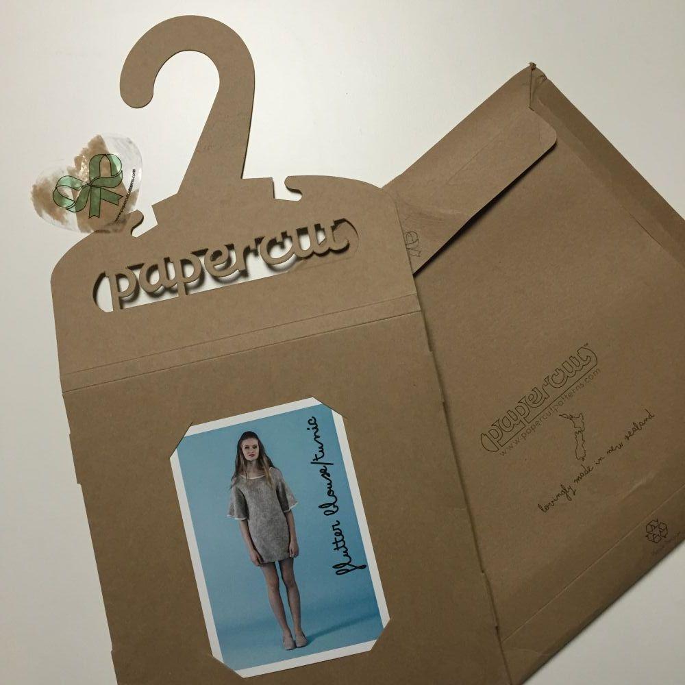Flutter blouse - Papercut Patterns - csews.com