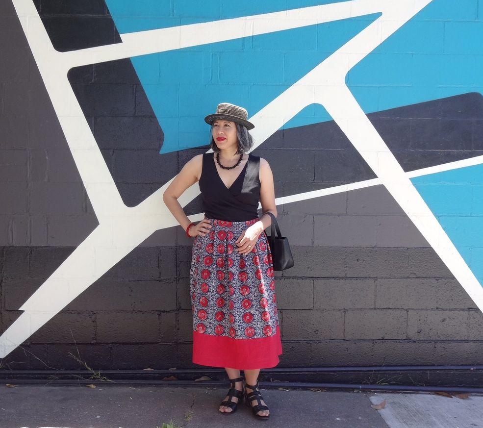 Deer and Doe - Chardon skirt - linen fabric - csews.com