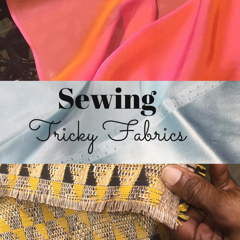 Sewing tricky fabrics - silk chiffon, charmeuse - Bay Area Sewists meetup - csews.com