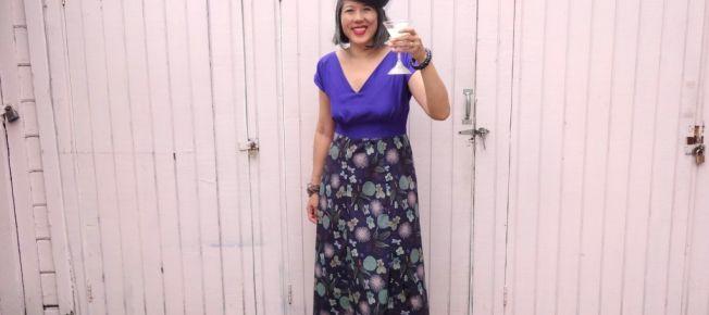 International Anna Party - Anna Dress - By Hand London - color blocked version - csews.com