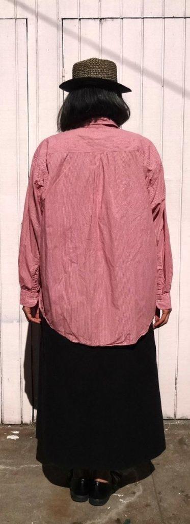 Before - back shirt