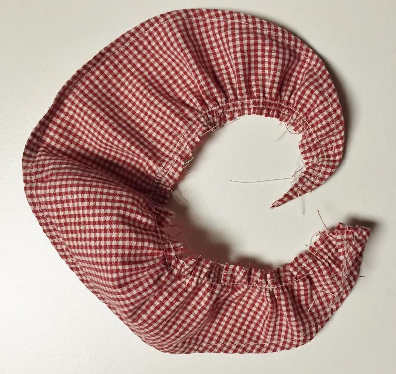 Fabric flower with gather - csews.com