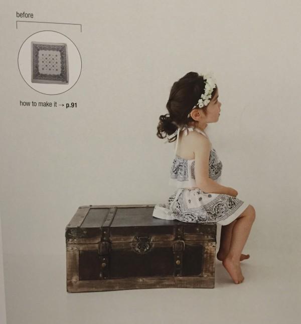 Bandanna refashion - Stylish Remakes by Violette Room - csews.com