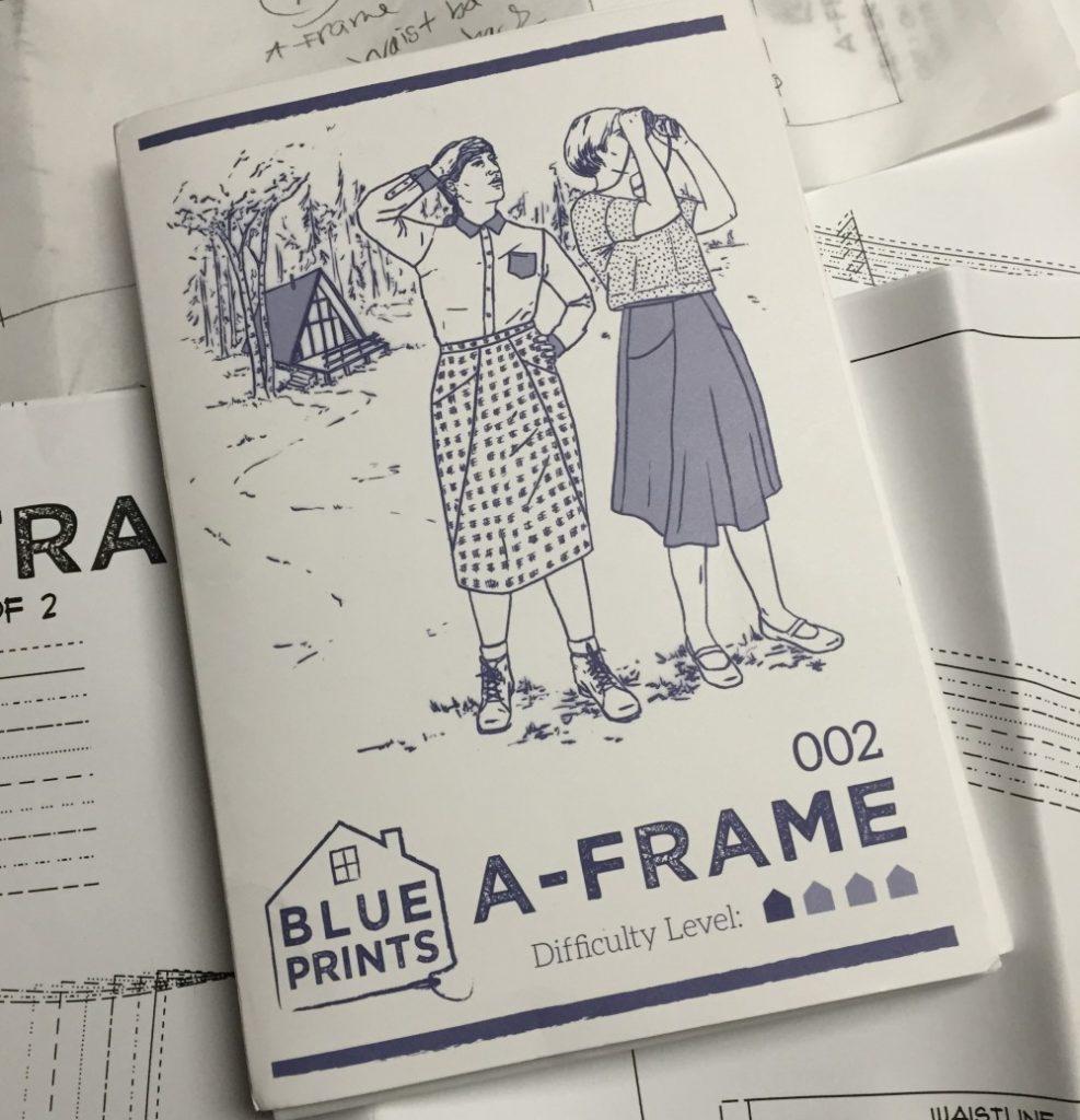 A-frame - Blueprints for Sewing - csews.com