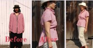 Refashioned shirt - Get Shirty - csews.com